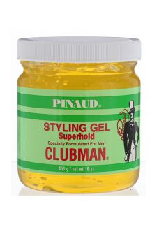 Clubman Pinaud Superhold Styling Gel, 16 oz