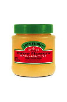 Tres Flores Brilliantine Solid, 3.25 oz